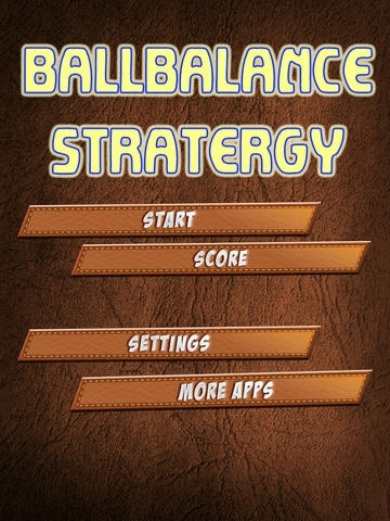 A Ball Balance Strategy - Free Version