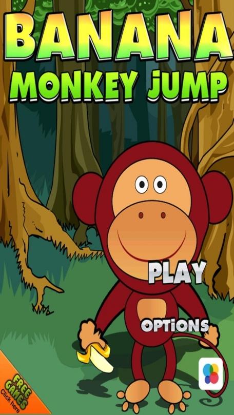 A Banana Monkey Jump Free Adventure Game for Fun
