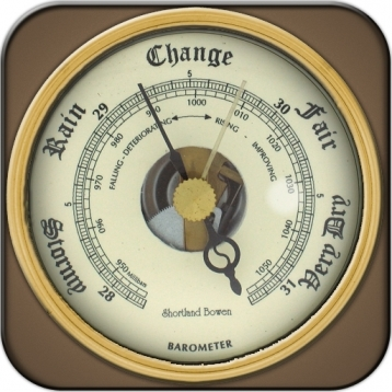 a Barometer for iPhone & iTouch