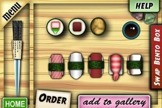 A Bento Box: Virtual Sushi