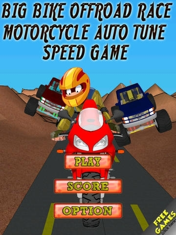 A Big Bike Offroad Race - Motorcycle Auto Tune Speed Game - Free Version