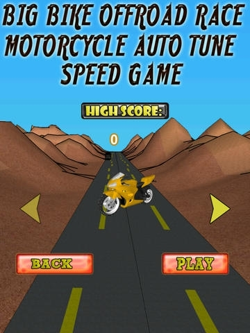 A Big Bike Offroad Race - Motorcycle Auto Tune Speed Game - Full Version