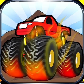 A Big Monster Truck Climb --  PRO Multiplayer Game