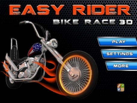 A Bike Race Easy Rider Style - Free