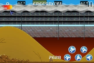 A Bike Race of  Freestyle MX - Free Motocross Multiplayer Game