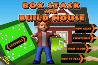A Box Stack and Build Rush Town House - Full Version