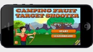 A Camping Fruit Target Shooting - Free Version