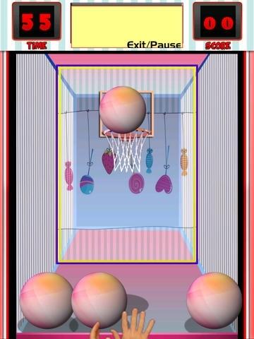 A Candy Hoops Basketball Arcade Fun Free Skill Games