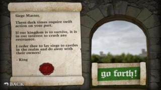 A Castle King Catapult Fling : Physics Knock Over Fling Shoot Game - Full Version
