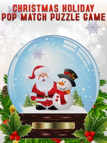 A Christmas Seasons Holiday Pop Match Puzzle Game - Full Version
