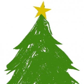 A Christmas Tree!