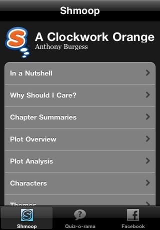 a clockwork orange study guide quiz o rama education app review  a clockwork orange study guide quiz o rama