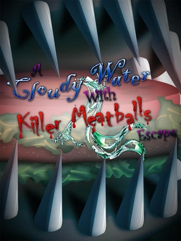 A Cloudy With Killer Meatballs Water Escape
