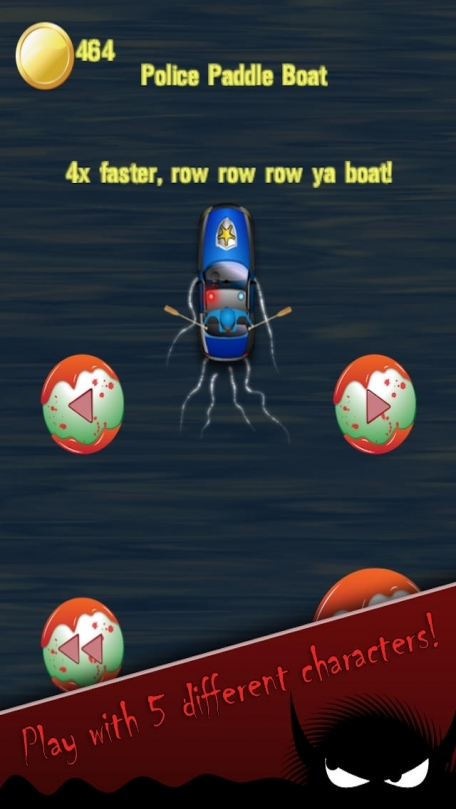 A Cloudy With Killer Meatballs Water Escape Pro