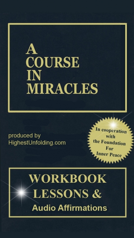 A Course In Miracles: Workbook for Students