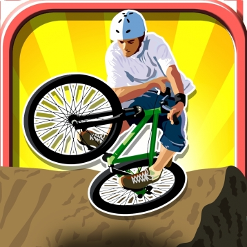 A Crazy Mountain Bike Race Free - Xtreme Downhill Racers
