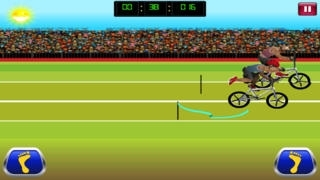A Crazy Mountain Bike Race HD - Full High Speed Version