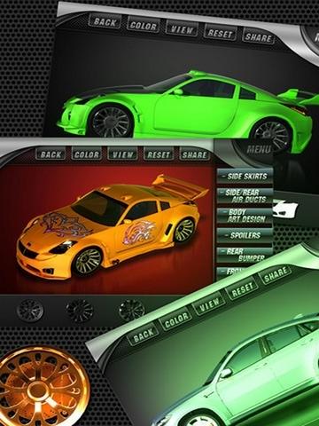A Custom Design Race Car : Make Speed Hot Racer - Full Version