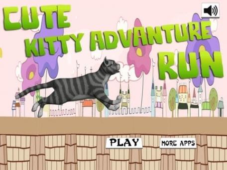 A Cute Kitty Adventure Run : Free Running Games