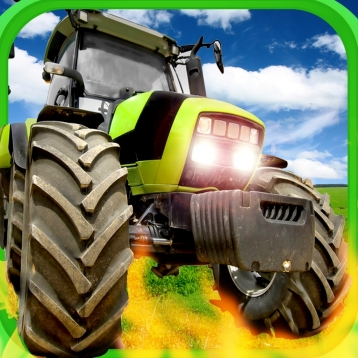 A Farm War Combat Run: Free Speed Tractor Shooting Game