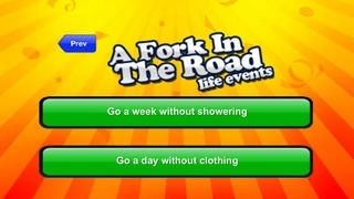 A Fork in the Road Party Trivia Game