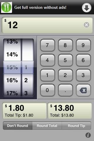 A Free Tip Calculator