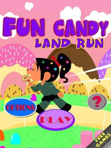 A Fun Candy Land Run - Free Girls Games