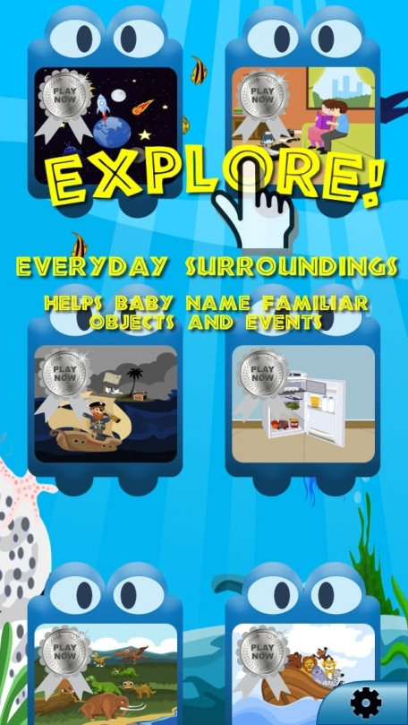 A fun preschool word activity to jumpstart learning for children age 1+ by Baby World Explorer 2014