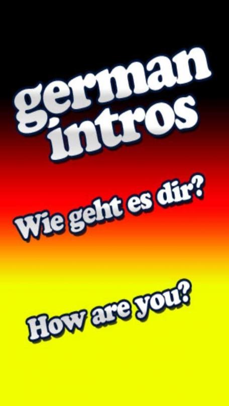 A German Language Tutor Intro