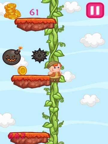 A Giant Beanstalk Climb Adventure Game With Cute Jack And The Little Toy Fairy Friends PRO