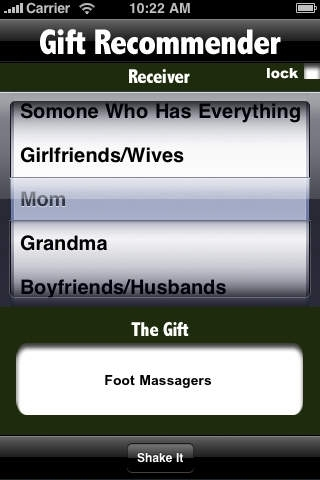 A Gift Recommender