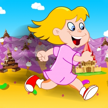 A Girl Friend Candy Run : Arcade Fun Running Games