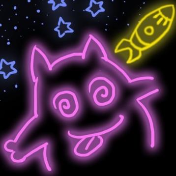 A+ Glow Doodle
