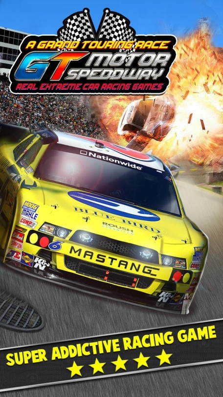 A Grand Touring Race GT Motor Speedway - Real Extreme Car Racing Games