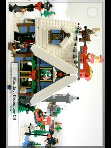 A GREAT APP FOR A MiniFig Christmas!