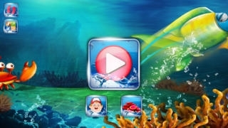 A Happy Fish in Candy Sea Water World Aquarium