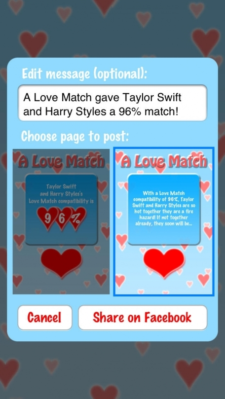 A Love Match: Compatibility Calculator