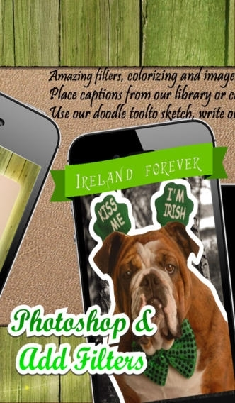 A Lucky Pic Booth - Easy Camera Photo Editor for St. Patrick's Day