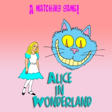 A Matching Game - Alice in Wonderland