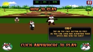 A Mega Cute Panda Spa Day Race