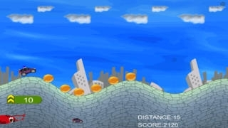 A Monster Car Chase Pro Version Hill Racing Escape