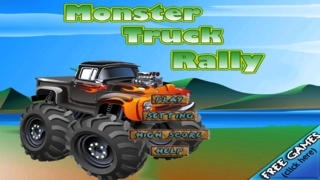 A Monster Truck Rally Race