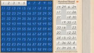 A Montessori Approach to Math - Hundred Board Lite!