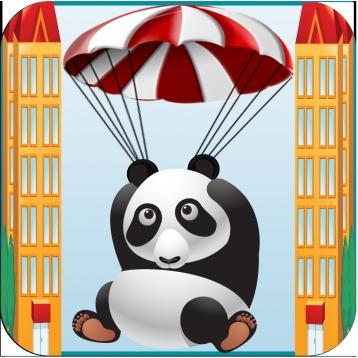 A Panda Parachute Rescue - Fall Down Fun Cute Saga Free