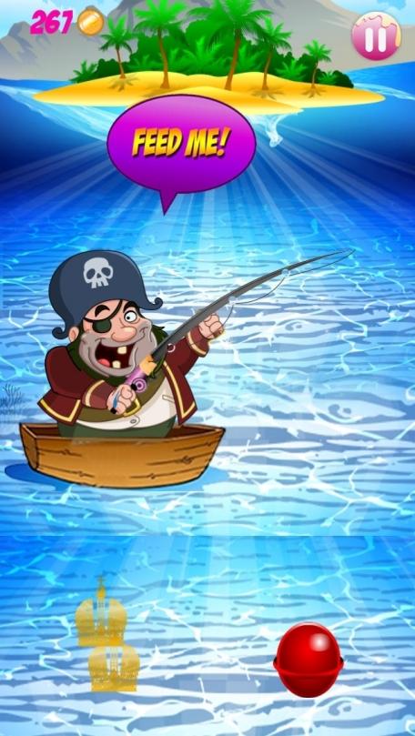 A pirate fishing boat candy treasure island saga free for Toddler fishing game free
