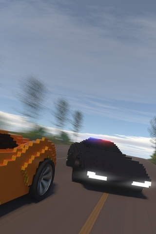 A Pixel Police Chase 3D