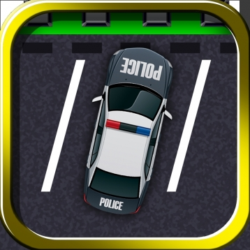 A Police Car Parking Simulator - Realistic Driving Simulation Test