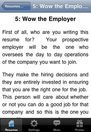 A Professional Approach to Resumes and Cover Letters