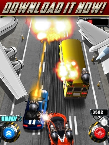 A Real Rocket Race - Car Fighting Racing Games