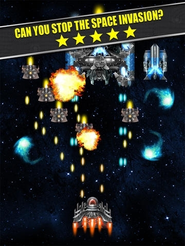 A Retro Space Shooter: Crush the Invaders Back to the Enemy Temple and Save the Day